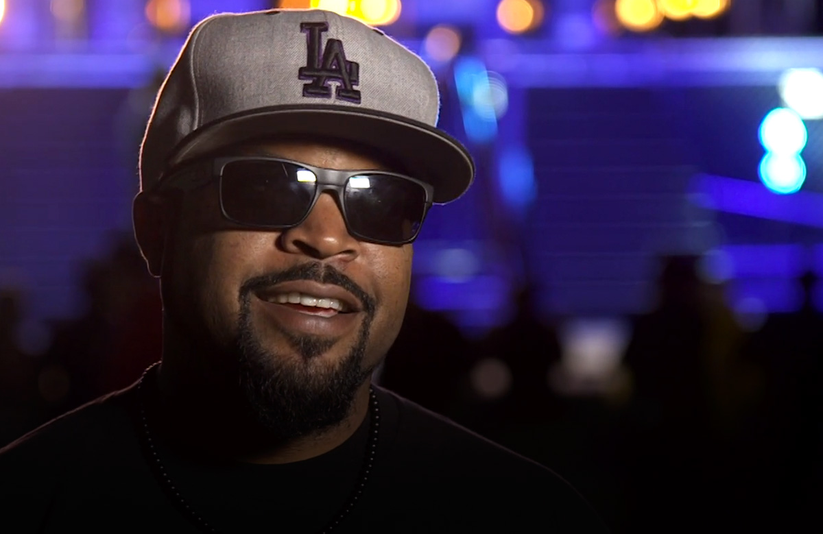 Ice Cube Says Son Playing Him in 'Compton' Was Like 'Back to the Future'